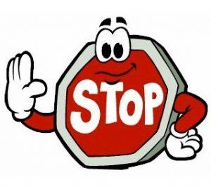 Hentikan Aktifitas yang Anda lakukan