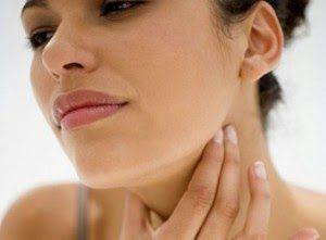 Rasa sakit pada beberapa bagian seperti tenggorokan leher dan rahang