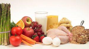 makanan bergizi dan bervitamin