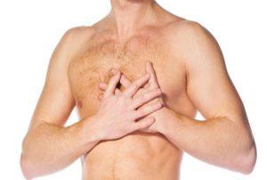 nyeri di bagian dada