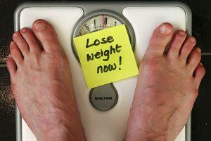 turunnya berat badan
