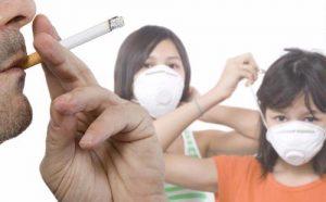 Menghindari rokok dan asapnya