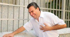 Rasa sakit di bagian dada