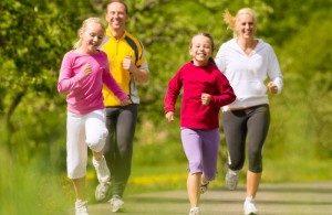 berolahraga secara teratur