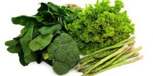 perbanyak konsumsi sayuran hijau